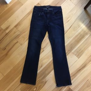 Banana Republic slim bootcut jeans